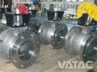 Direct Mounted Segment Ball Valve