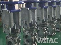Mono-block Wafer Knife Gate Valve