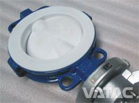 Full Body Linning Butterfly Valve