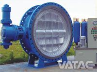Turbine Inlet Hydraulic Counterweight Butterfly Valve